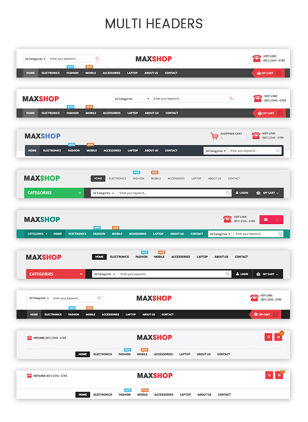 Maxshop | Multi-Purpose Responsive WooCommerce Theme (9+ Homepages & Mobile Layouts Ready) Download