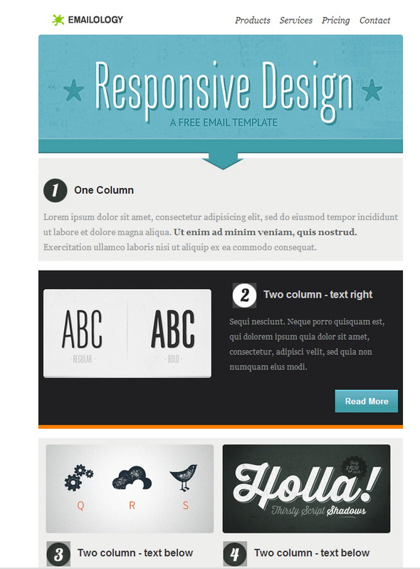 Best 20 free beautiful responsive html email templates 2018 free newsletter email template fbccfo Image collections