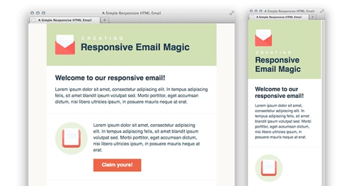 Best Free Beautiful Responsive HTML Email Templates - Email template html code