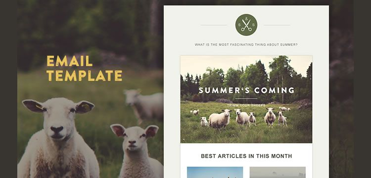 Best 20 free beautiful responsive html email templates 2018 green village html template responsive email maxwellsz