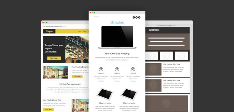 Best 20 free beautiful responsive html email templates 2017 responsive email template free predesigned accmission