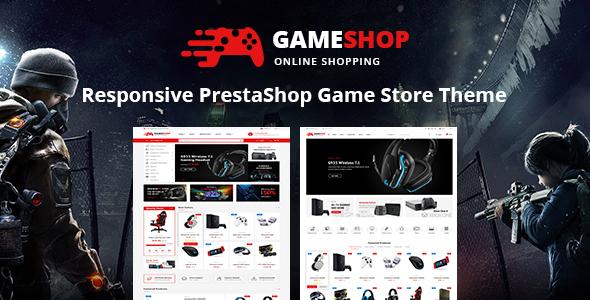 gameshop prestashop