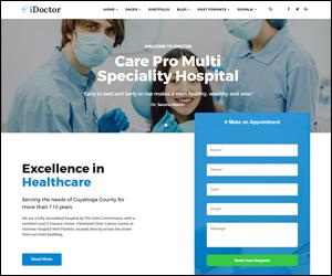 Responsive Joomla Clinic, Doctor & Heathcare Template - Sj iDoctor