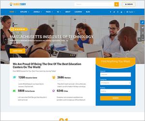 Elegant Directory Joomla Template - Sj Directory