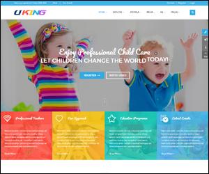 Responsive Joomla Preschool Template - SJ Uking