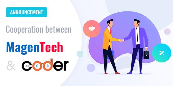 Cooperation between magenTech and landofcoder