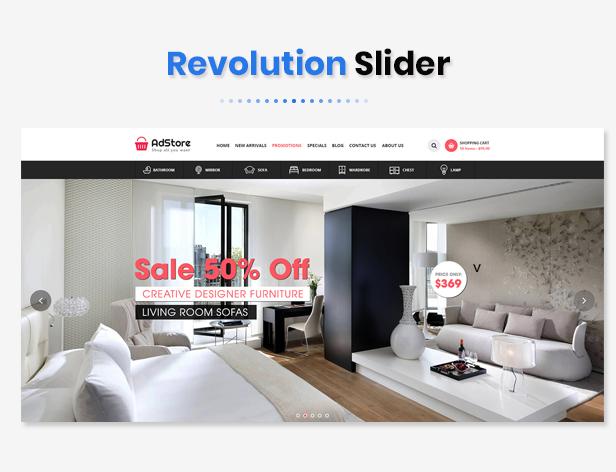 AdStore - Multipurpose Responsive OpenCart Theme - 1