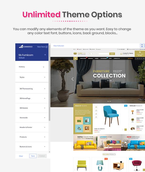 Furnicom - Multipurpose Stencil Responsive BigCommerce Theme