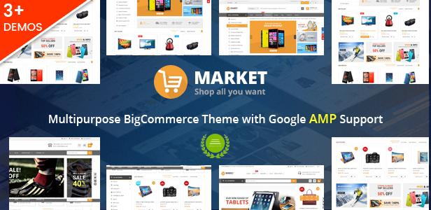 Market - Multipurpose Stencil BigCommerce Theme & Google AMP Ready