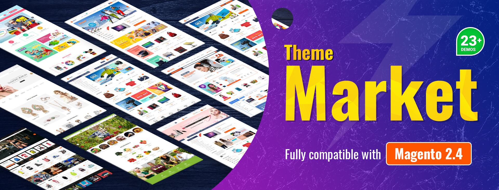 SM Market - The best Magento 2 theme