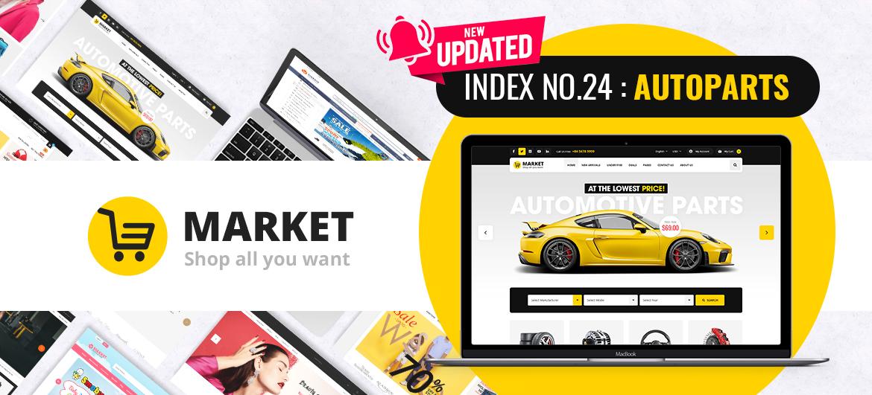 market magento 2 theme