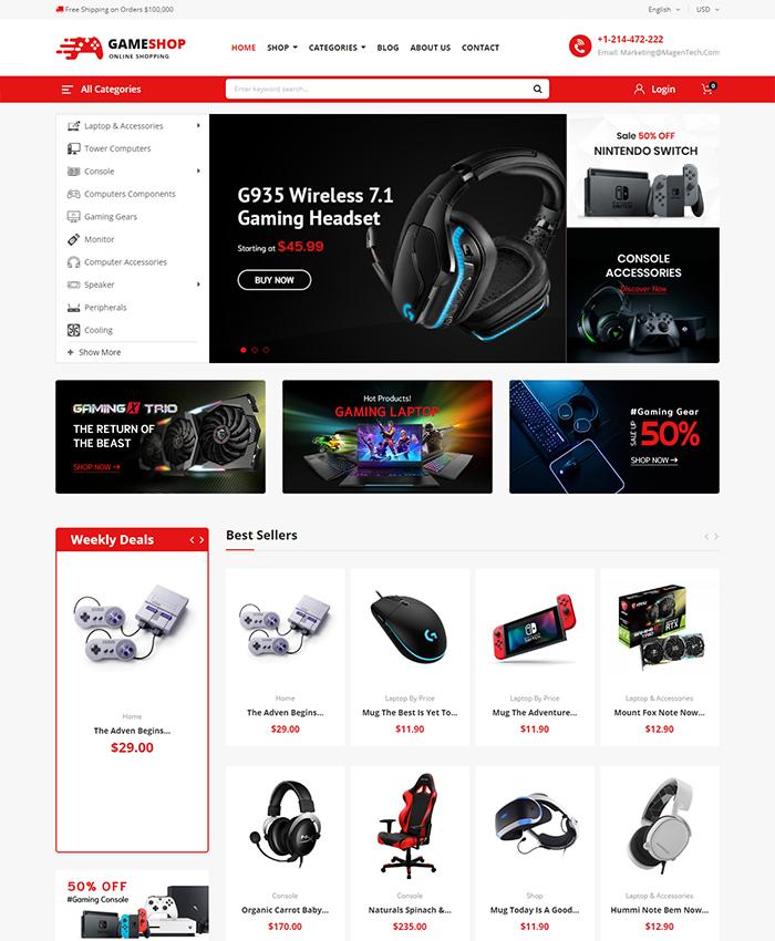 Best-selling PrestaShop Themes 2020