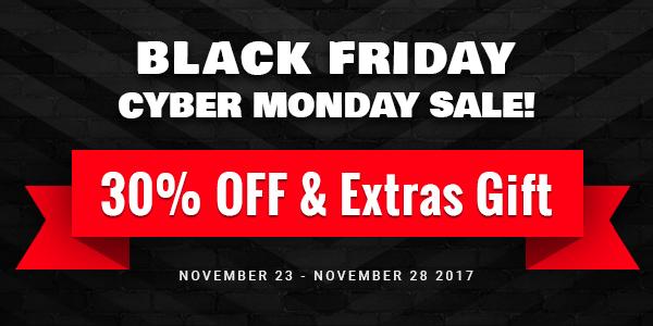 Black Friday Sale - Magento Theme