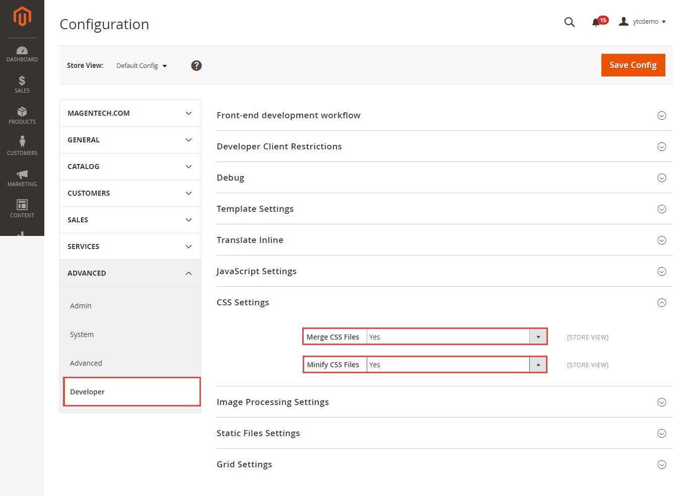 Enabling Flat categories in Magento 2