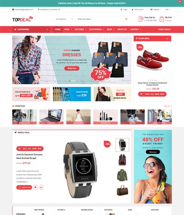Best Premium Prestashop Fashion Themes - Revo