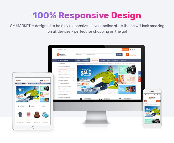 Best Magento 2 Themes - responsive