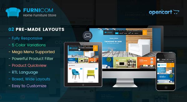 SO Furnicom - Responsive Opencart theme