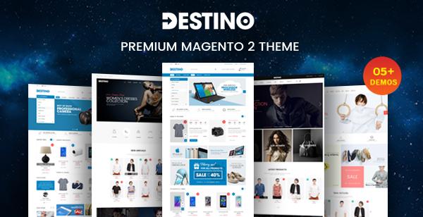 Destino - Responsive Magento theme