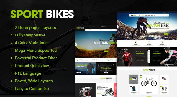 SO Sportbikes - Responsive Magento theme