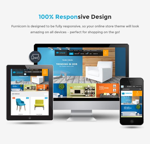 responsive - Furnicom - Responsive Magento 2 and 1.9 Furniture Theme