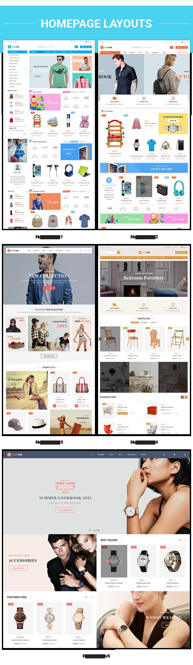 Sawyer - Homepage