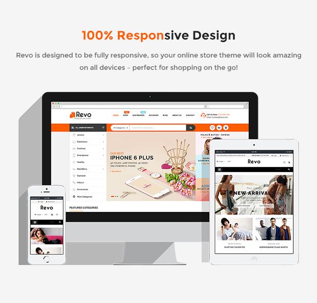 Responsive Prestashop Store Theme - Fully Responsive