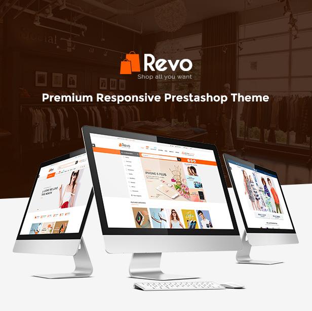 Responsive Prestashop Store Theme - Homepage