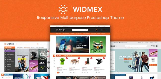 SP Widmex - Responsive Prestashop theme