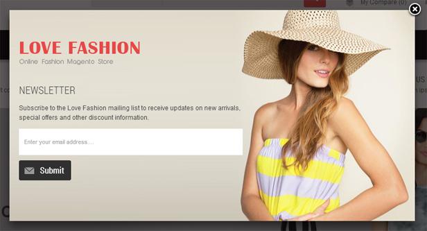 Love Fashion- Newsletter