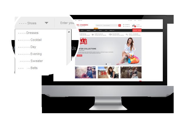 Love Fashion- Search box pro