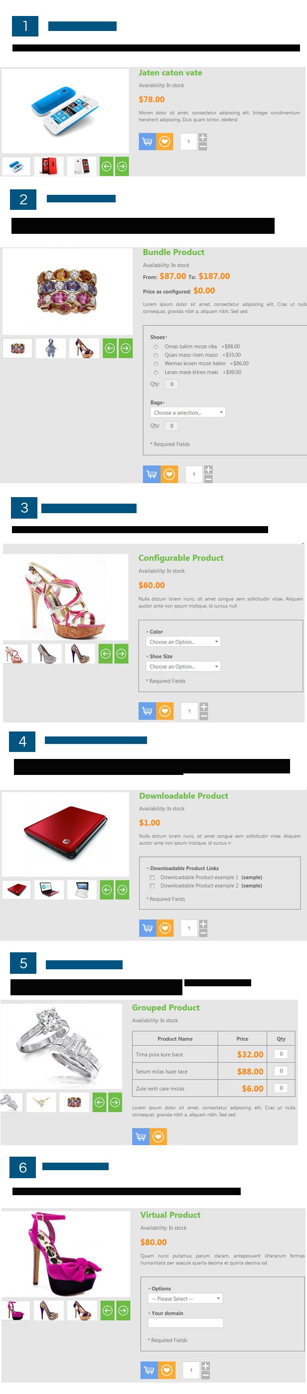 6products - SM Amaz - Premium Responsive Magento Theme