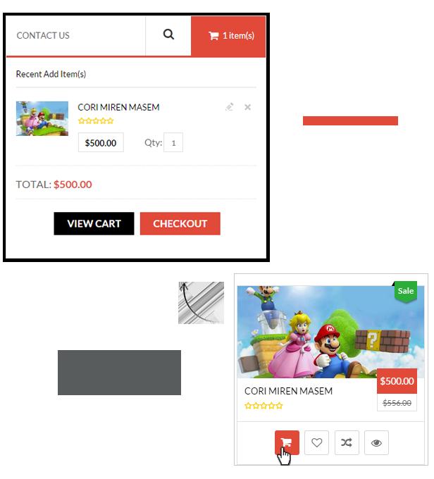 cart pro - iGame - Premium Multipurpose Magento Theme