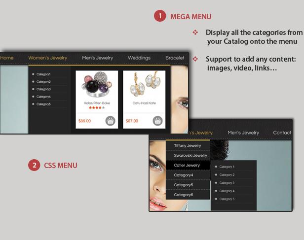 menu - SM Macy - Responsive Magento Theme