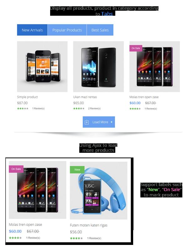 display product - Meline - Responsive Multipurpose Magento Theme