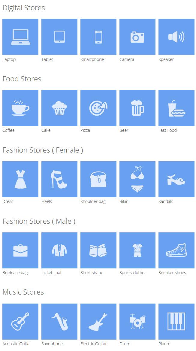 store icon - Meline - Responsive Multipurpose Magento Theme
