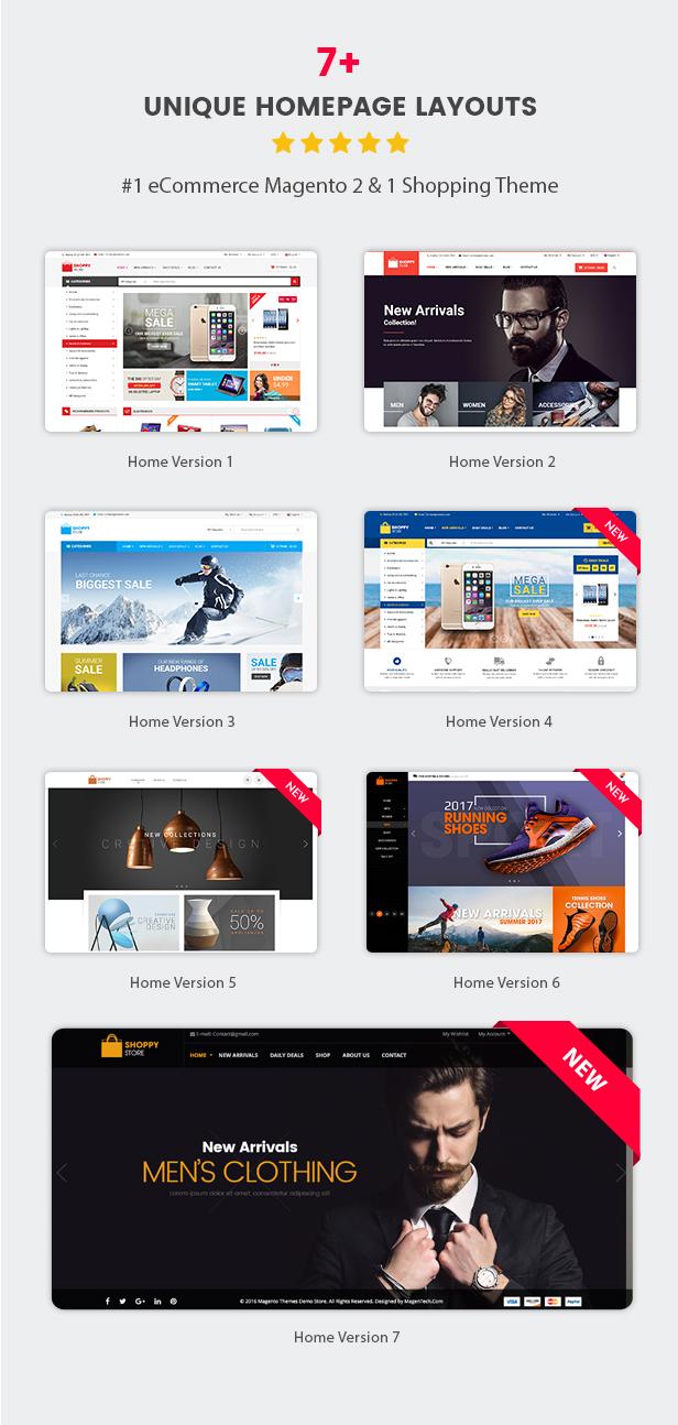 Shoppy Store - Homepage