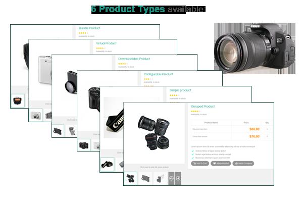 SM Viste - 6 Product Types