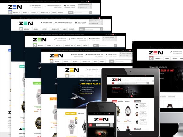 color - SM Zen - Responsive Multi-Store Magento Theme