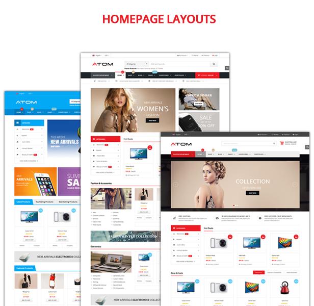 Atom - Homepage