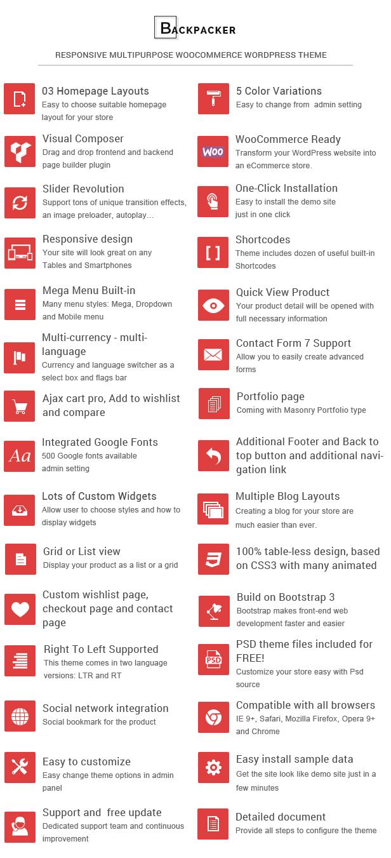 Responsive Technology WooCommerce WordPress Theme - Features