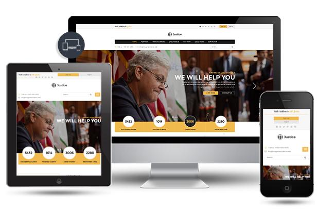 Responsive-w616px Justice - Responsive & Multipurpose WordPress Theme theme WordPress