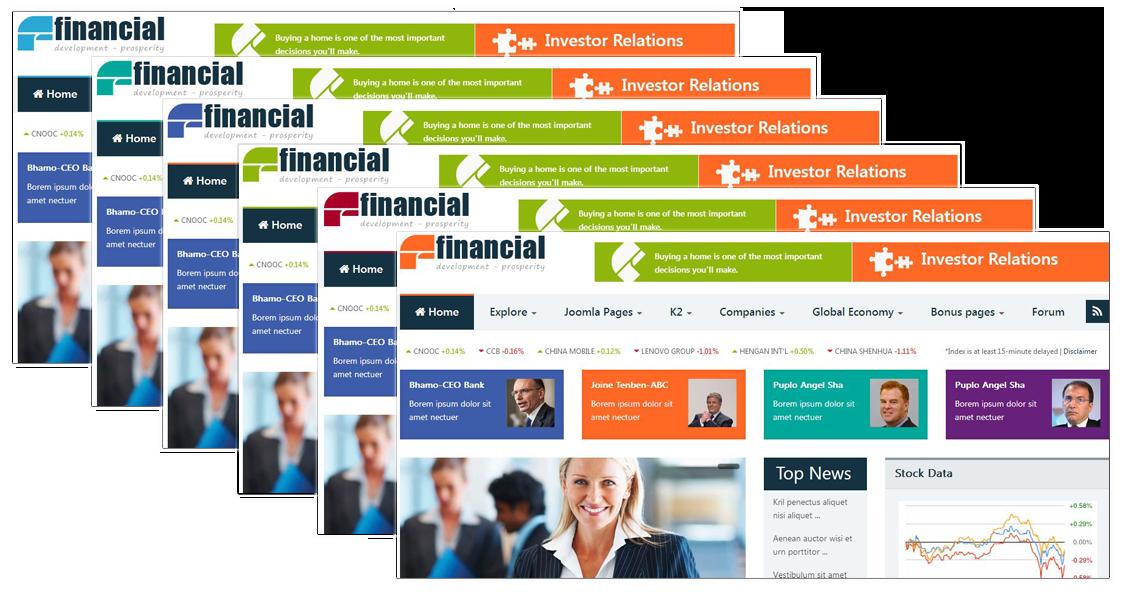 SJ Financial - Color Presets