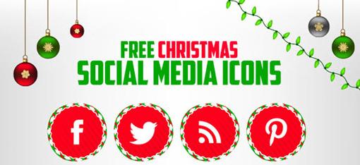 Christmas Resource Download - Social Media Icon Set