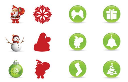 Christmas Resource Download - Smashing Christmas Icons Set