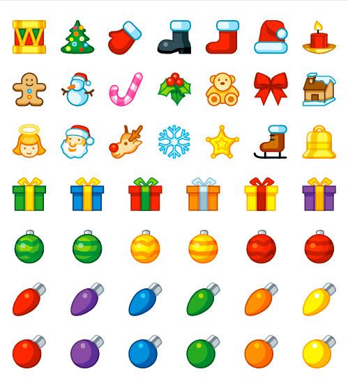Christmas Resource Download - Christmas Holiday Icons