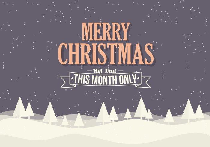 High-Quality Free Christmas Vector Graphics 2017 - 23