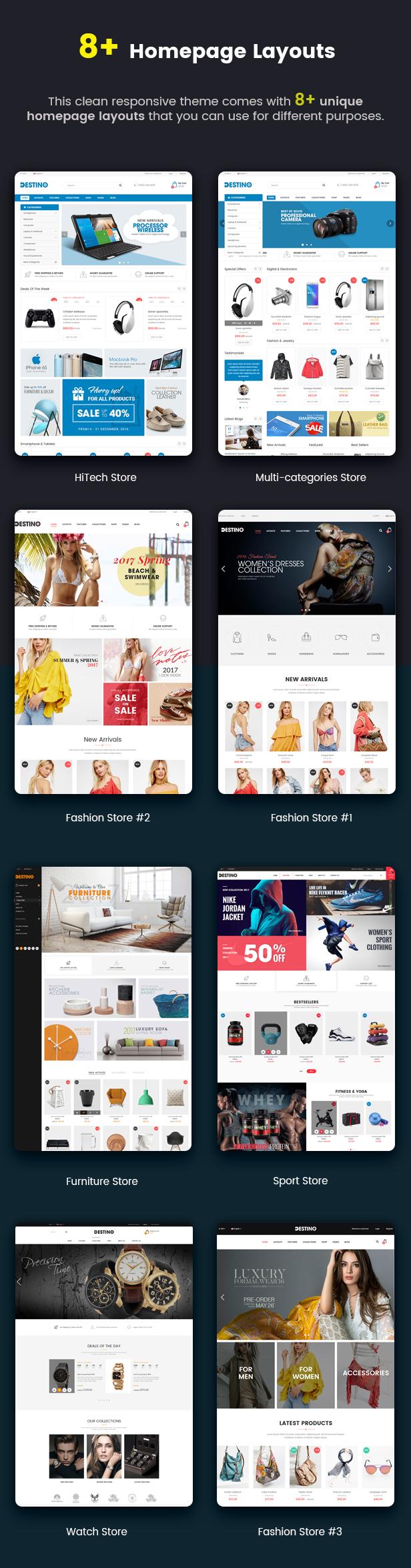 Destino - Responsive & Multi-Purpose HTML5 Template