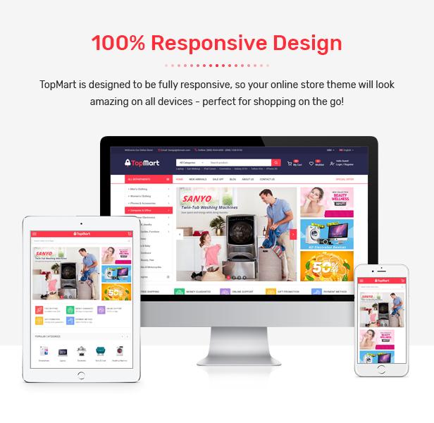 TopMart - MultiPurpose Responsive Magento 2 Shopping Theme - 3