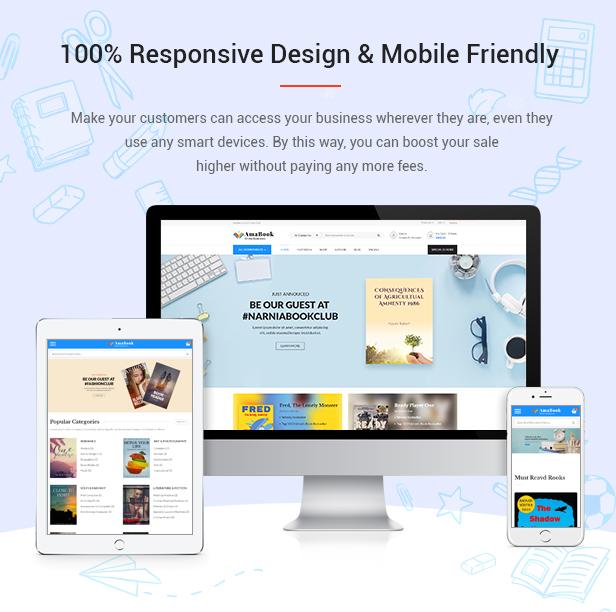 AmaBook - MultiPurpose Responsive Magento Theme - 5