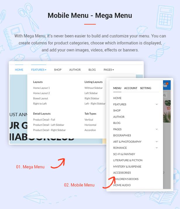 AmaBook - MultiPurpose Responsive Magento Theme - 6